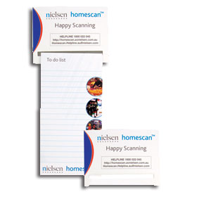 fridge magnet and notepad