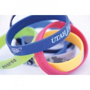 silicone wristbands all types